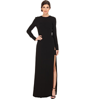 JILL JILL STUART - Long SLeeve High Side Slit Gown