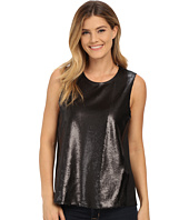 DKNYC - Soft shine Sequin CDC Back Top