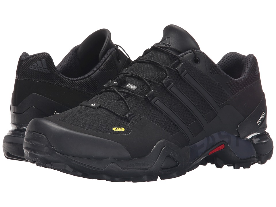 adidas Outdoor - Terrex Fast R (Black/Dark Grey/Chalk White) Men