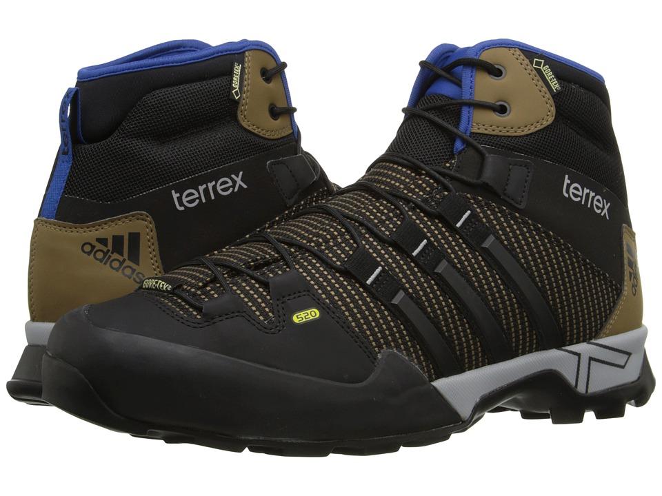 adidas Outdoor - Terrex Scope High GTX (Earth/Black/EQT Blue) Men