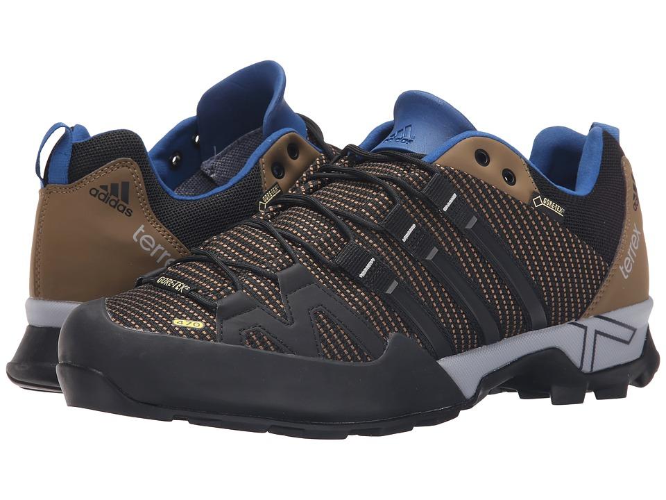 adidas Outdoor - Terrex Scope GTX (Earth/Black/EQT Blue) Men