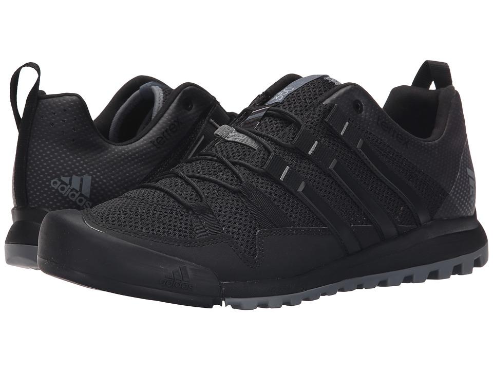 adidas Outdoor - Terrex Solo (Black/Vista Grey/Chalk White) Men