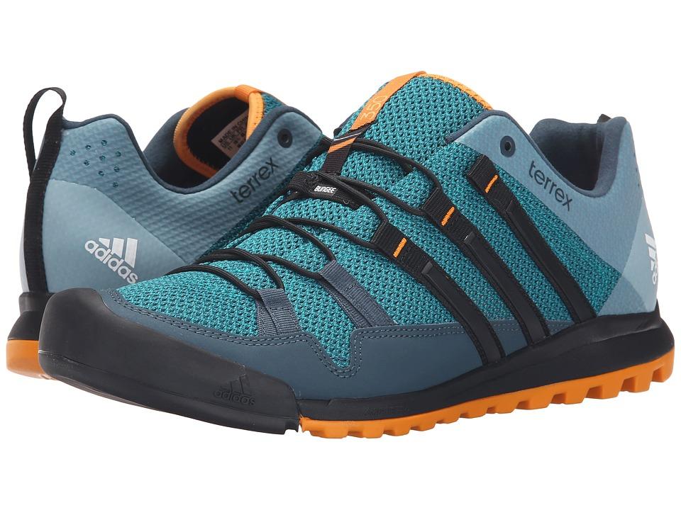 adidas Outdoor - Terrex Solo (EQT Green/Black/EQT Orange) Men