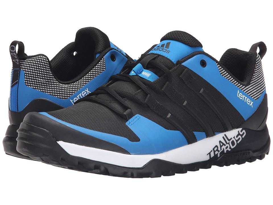 adidas Outdoor - Terrex Trail Cross SL (Black/White/Shock Blue) Men