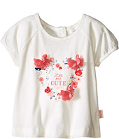 Pumpkin Patch Kids - Urban Folk Heart Flutter Flower Top (Infant)