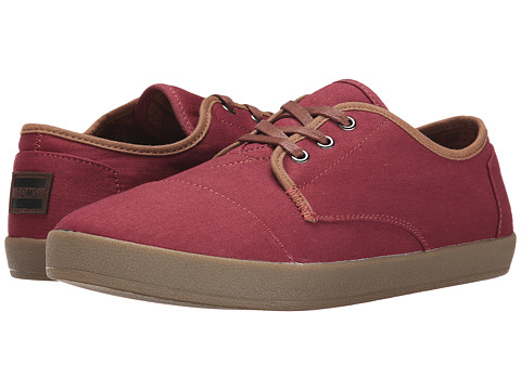 TOMS Paseo - Oxblood Twill