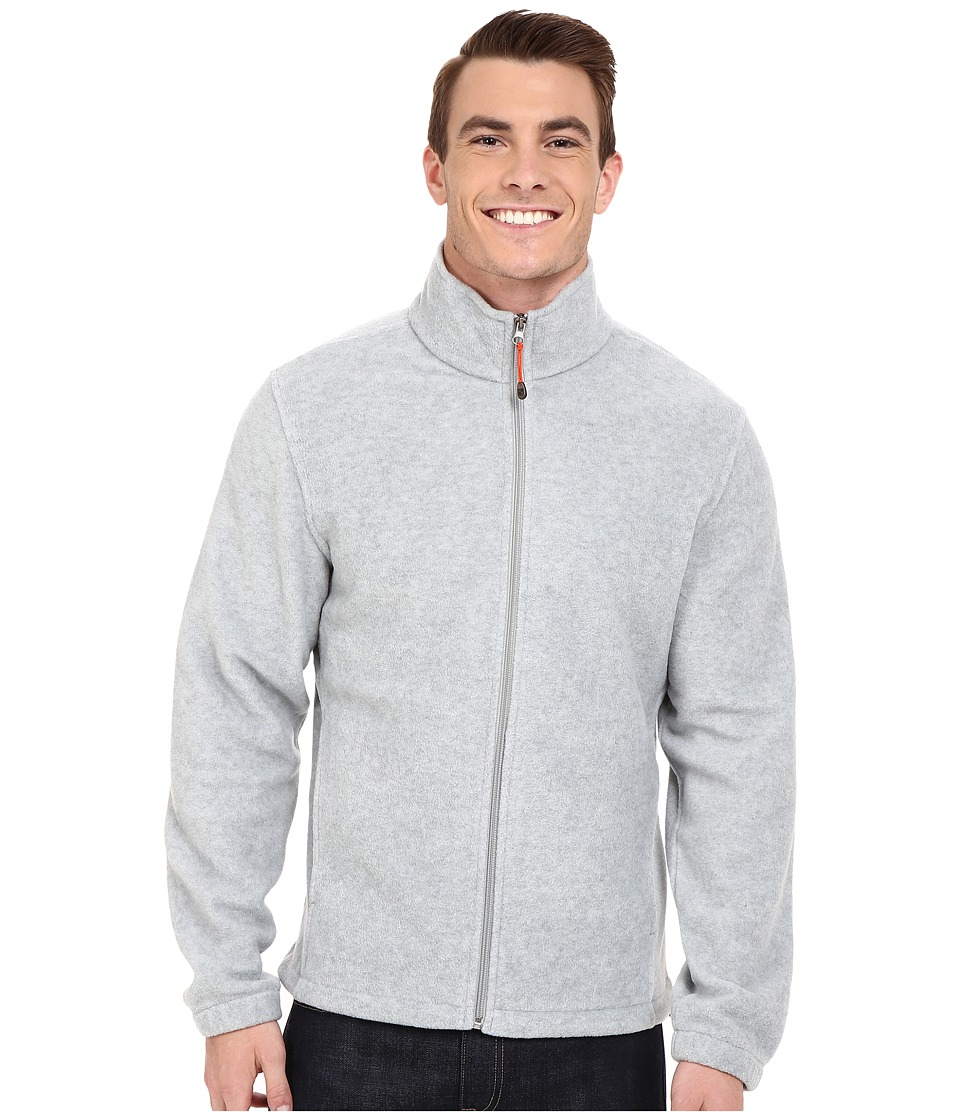 Woolrich Andes II Fleece Jacket (Lt Grey Heather) Men
