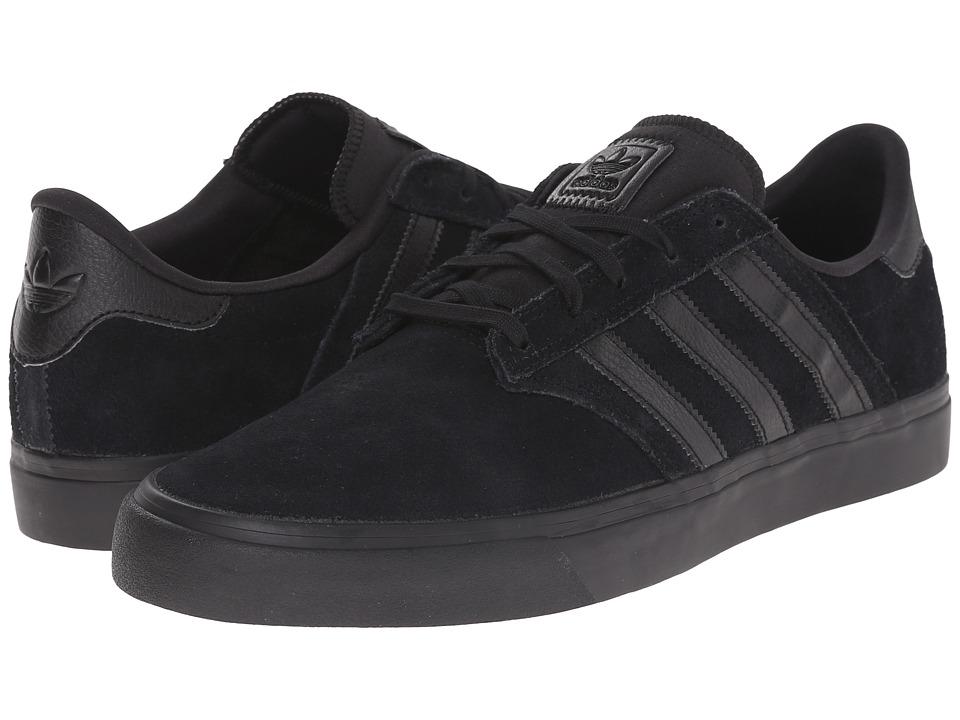 adidas Skateboarding - Seeley Premiere (Core Black/Core Black/Core Black) Mens Skate Shoes
