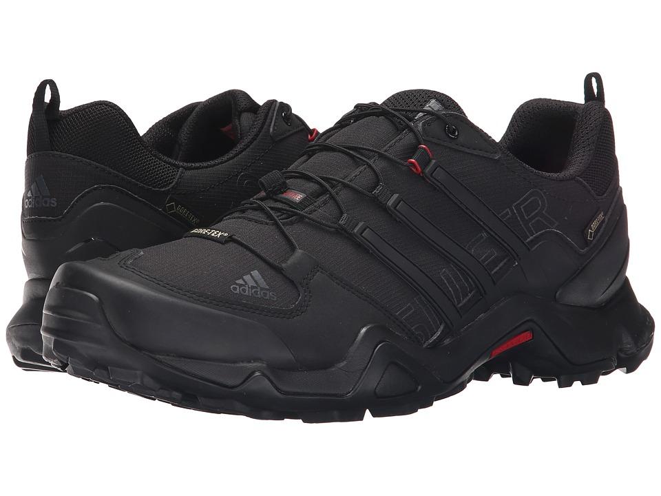 adidas Outdoor - Terrex Swift R GTX (Black/Dark Grey/Power Red) Men