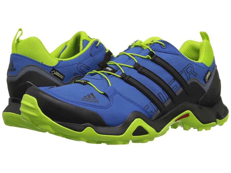 adidas Outdoor - Terrex Swift R GTX (EQT Blue/Black/EQT Green) Men
