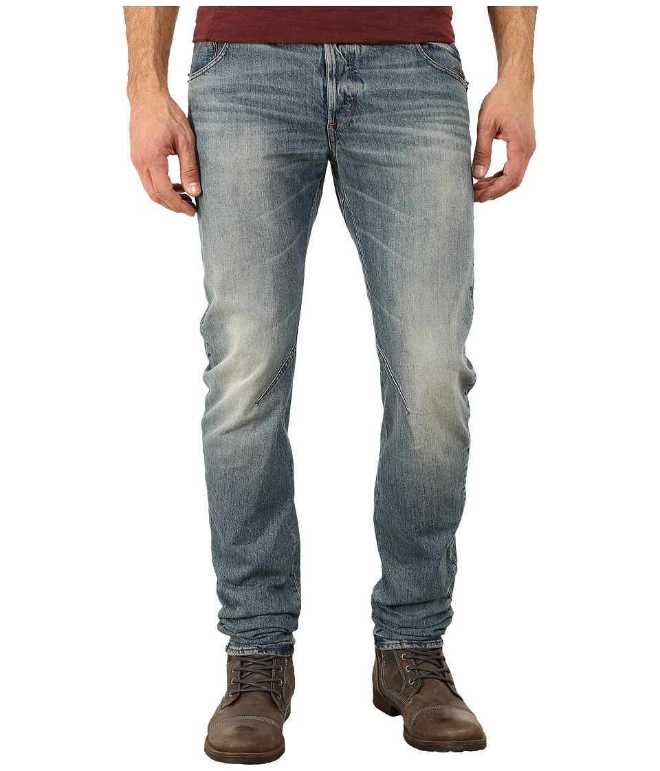 G Star Arc Zip 3D Slim Fit Jeans in Zalton Denim Medium Aged Zalton Denim Medium Aged Mens Jeans