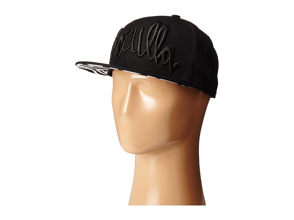 Haculla Snapback Hat Black Caps