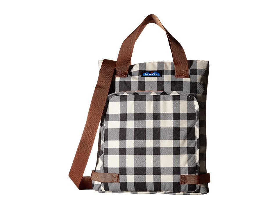 KAVU - Rover (BW Plaid) Bags