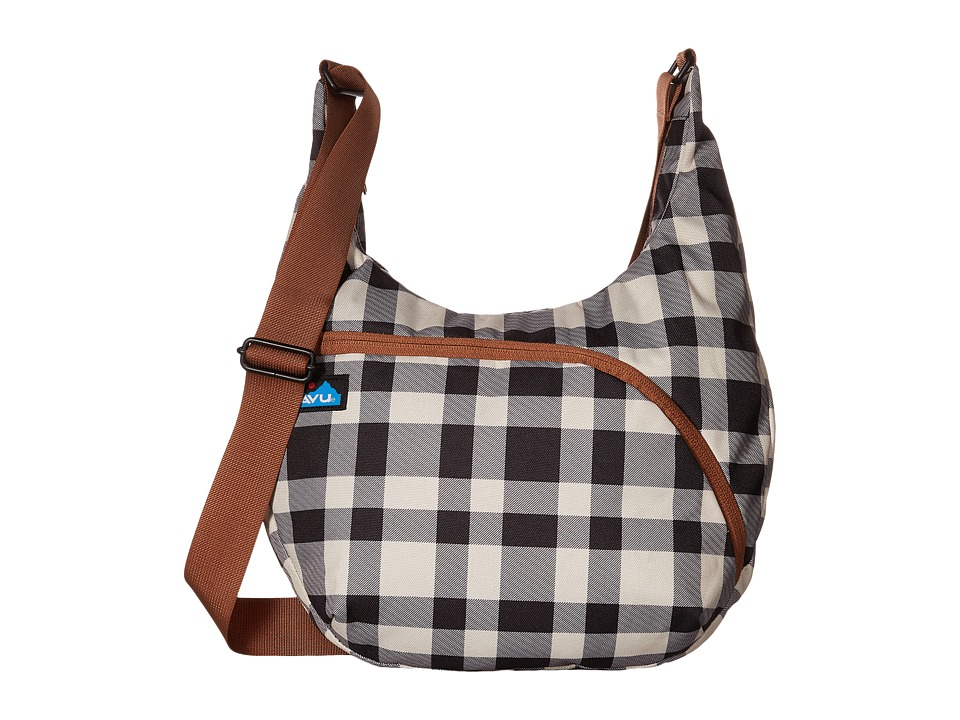 KAVU - Singapore Satchel (BW Plaid) Hobo Handbags