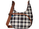 KAVU Singapore Satchel (BW Plaid)