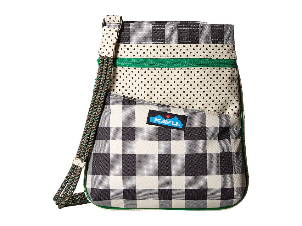 KAVU - Keepsake (BW Plaid) Bags
