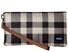 KAVU Clutch-n-Go (BW Plaid)