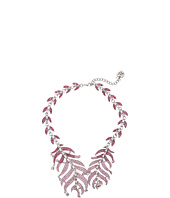 Betsey Johnson - Ballerina Rose Feather Collar Necklace