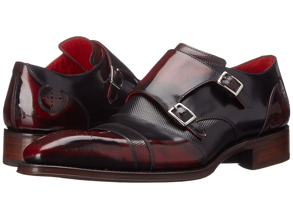 Jeffery West Moon Bordeaux Mens Shoes