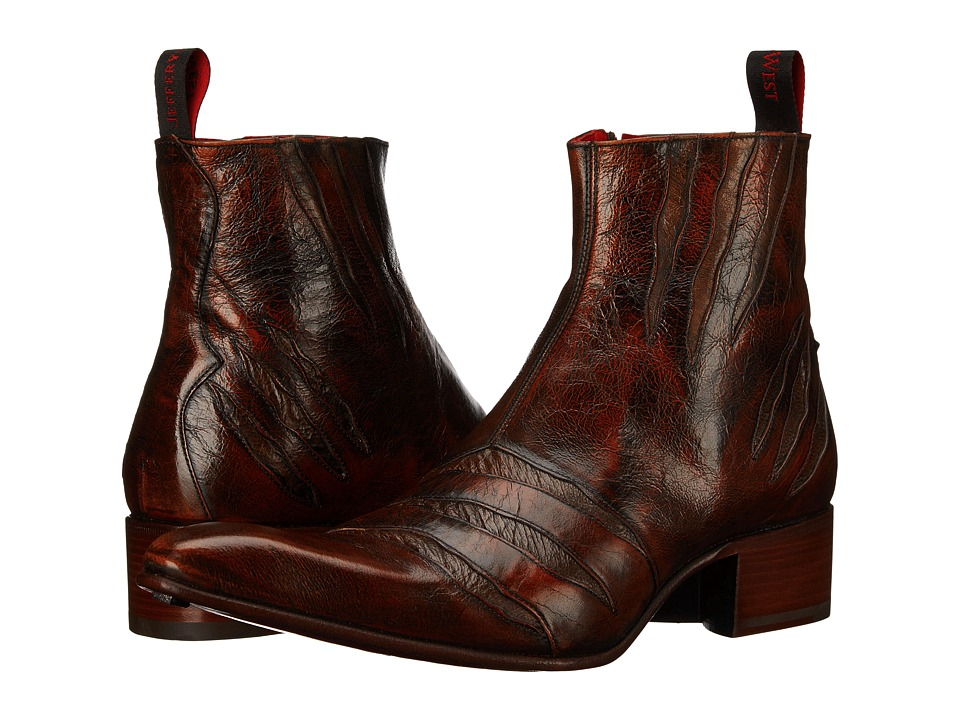 Jeffery West Rochester Brown Mens Shoes