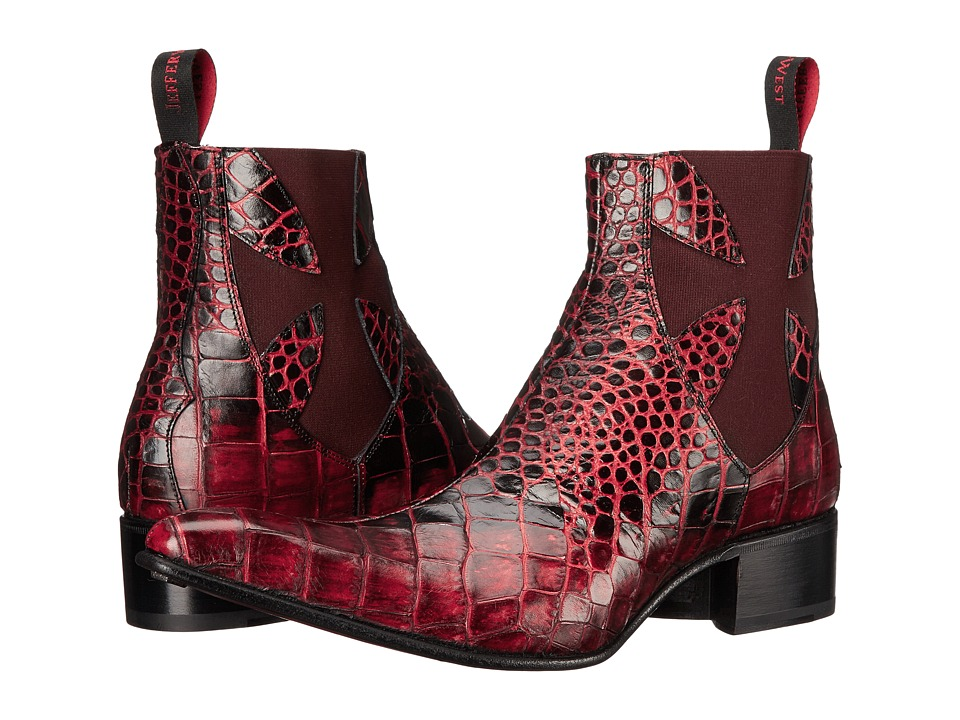 Jeffery West Rochester Red Mens Shoes