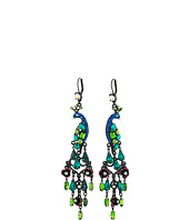 Betsey Johnson - Peacock Chandelier Earrings