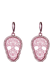 Betsey Johnson - Filligree Skull Earrings