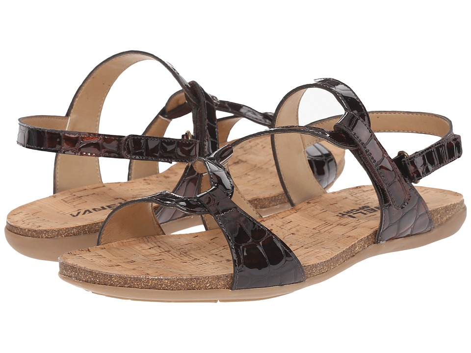 Vaneli Barmer Brown Loc Karnak/Print Womens Wedge Shoes