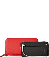 Mighty Purse - Saffiano Leather Charging Wallet