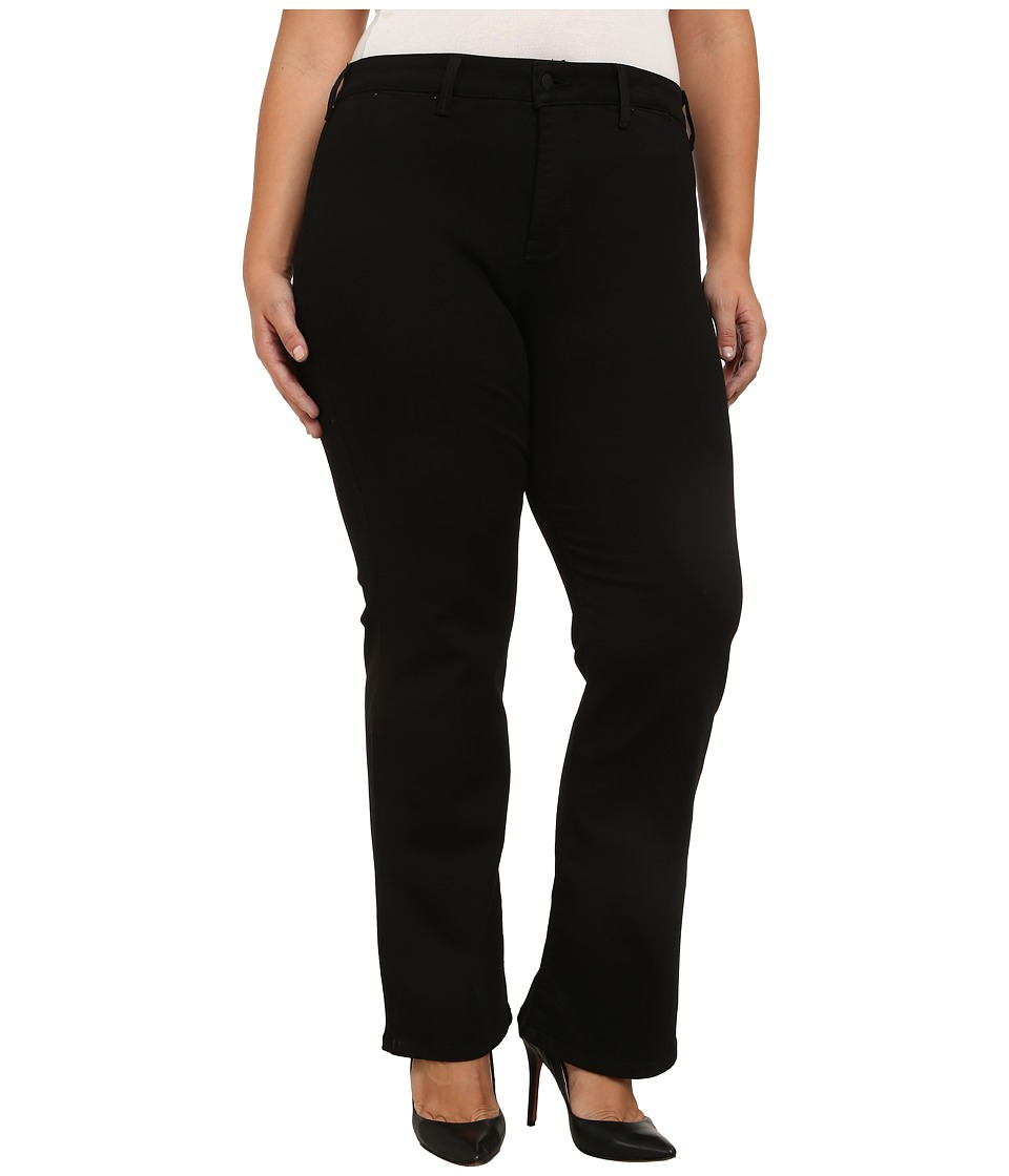 NYDJ Plus Size - Plus Size Isabella Trousers in Black (Black) Women's Jeans