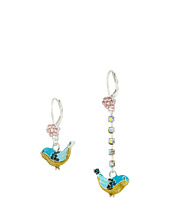 Betsey Johnson - Bauble Bird Non-Matching Earrings