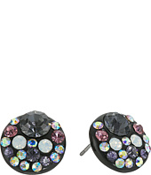 Betsey Johnson - Panther Purple Stud Earrings