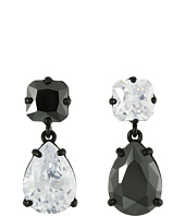 Betsey Johnson - Panther Crystal Non-Matching Earrings