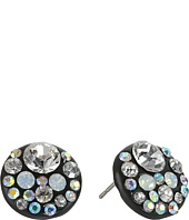 Betsey Johnson - Panther Crystal Stud Earrings