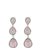 Betsey Johnson - CZ Teardrop Earrings