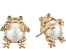 Pearl Critters Frog Stud Earrings
