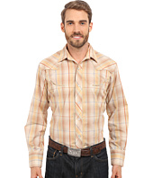 Roper - Embroidered 0294 Earth Tone Plaid w/ Gold Lurex