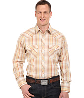 Roper - Big & Tall 0294 Earth Tone Plaid w/ Gold Lurex