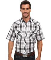 Roper - 0303 Dark Night Plaid w/ Silver Lurex