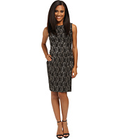 Tahari by ASL Petite - Petite Bonded Lace Sheath