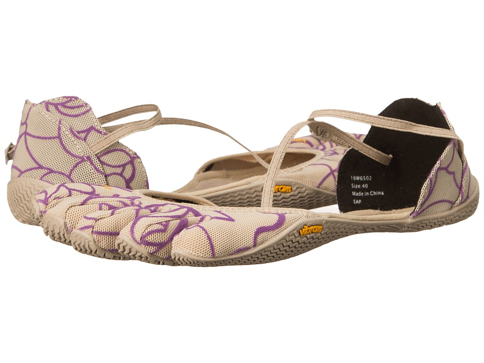 Vibram FiveFingers - Vi-S (Beige/Royal Purple) Women