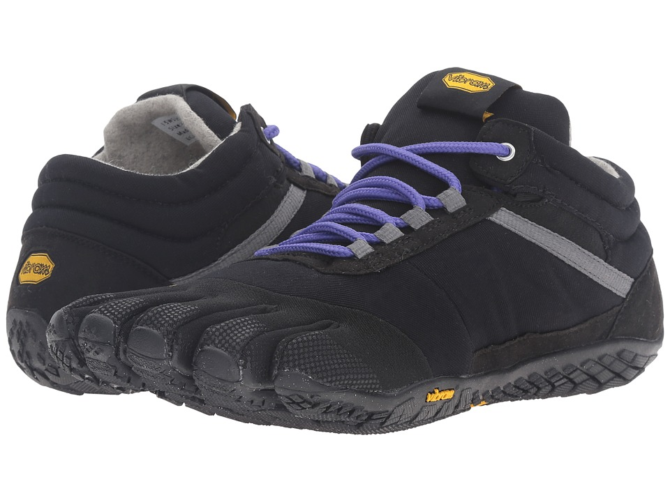Vibram Fivefingers Trek Ascent Insulated (Black/Purple) W...
