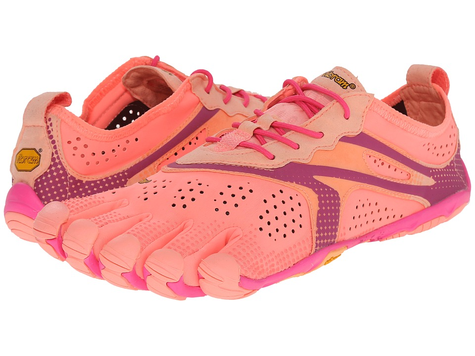 Vibram FiveFingers V Run Pink/Red Womens Shoes