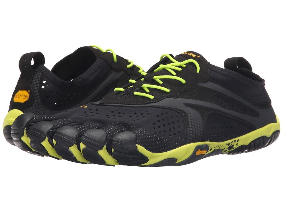 Vibram FiveFingers V Run Black/Yellow Mens Shoes