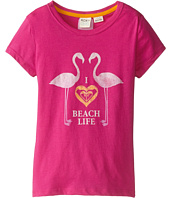 Roxy Kids - Beach Life Tee (Little Kids/Big Kids)