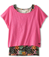 Roxy Kids - Kona Twofer Tee (Little Kids/Big Kids)
