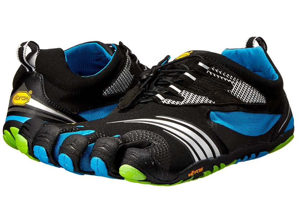 Vibram FiveFingers KMD Sport LS Black/Blue/Green Mens Shoes