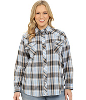Roper - Plus Size 295 Plaid with Embroidery