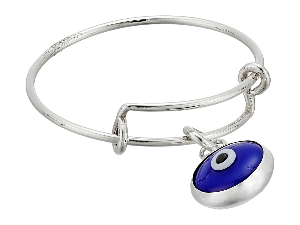 Alex and Ani - Evil Eye Expandable Wire Ring (Sterling Silver) Ring