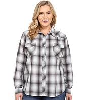 Roper - Plus Size 0302 Grey Tonal Plaid